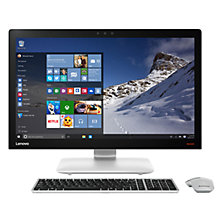 "Buy Lenovo Ideacentre 910 All-in-One Desktop PC, Intel Core i7, 8GB RAM, 1TB, 27"" Full HD, Silver Online at johnlewis.com"