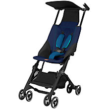 Buy GB Pockit Stroller, Sea Port Blue Online at johnlewis.com