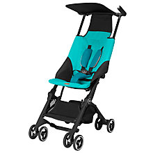 Buy GB Pockit Stroller, Capri Blue Online at johnlewis.com