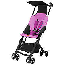 Buy GB Pockit Stroller, Posh Pink Online at johnlewis.com