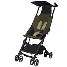Buy GB Pockit Stroller, Lizard Khaki Online at johnlewis.com