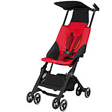 Buy GB Pockit Stroller, Dragonfly Red Online at johnlewis.com