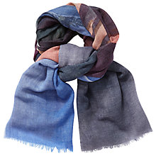 Buy Becksondergaard Viscaria Printed Scarf, Lilac Snow Online at johnlewis.com