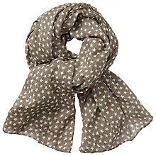 Buy Becksondergaard Fine Summer Star Scarf, Mouse Online at johnlewis.com