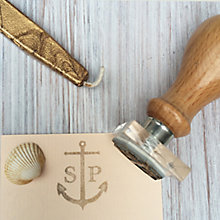 Buy StompStamps Anchor Monogram Stamp Online at johnlewis.com