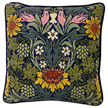 Buy Bothy Threads William Morris Sunflowers Printed Canvas Tapestry Kit Online at johnlewis.com