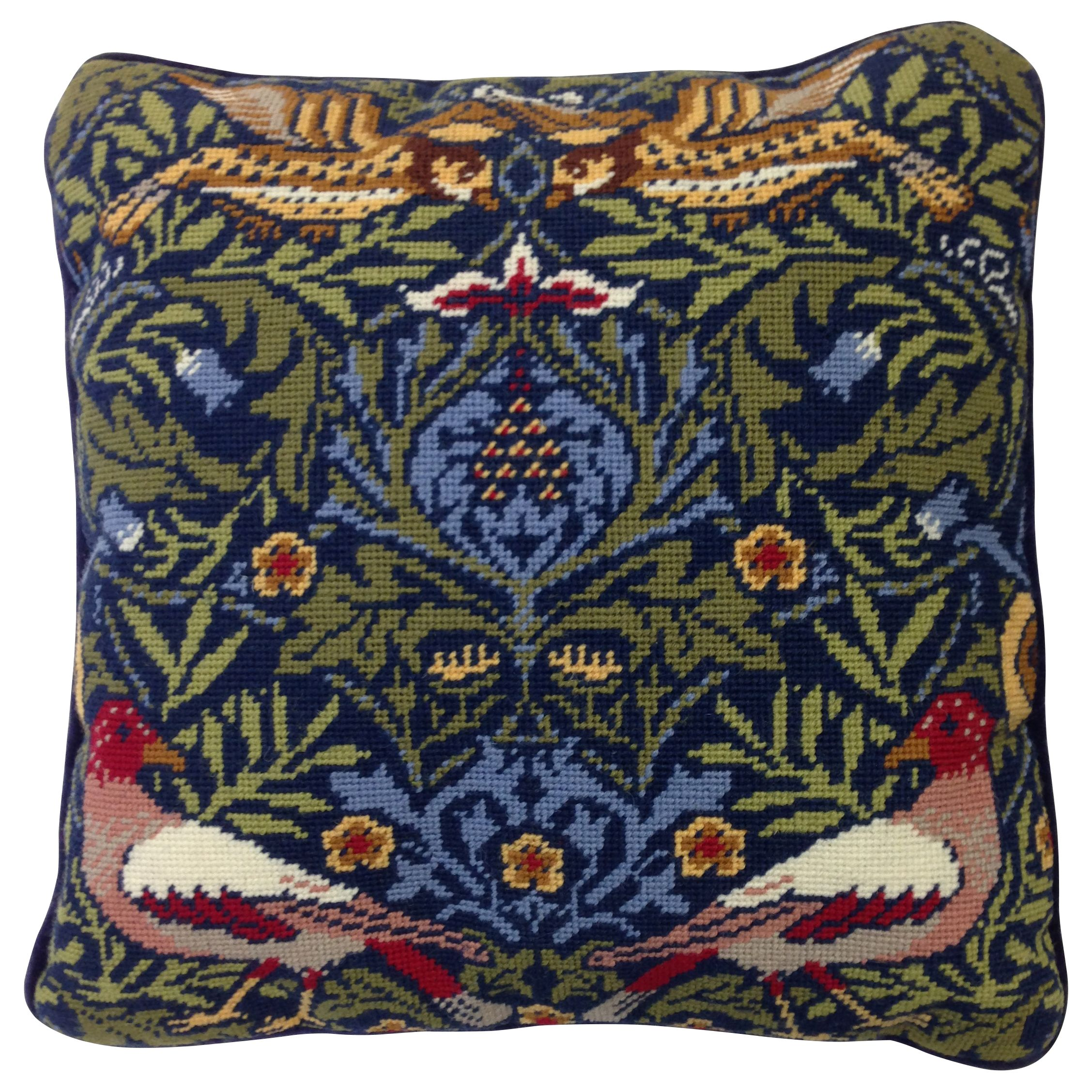 Bothy Threads Bothy Threads William Morris Bird Printed Canvas Tapestry Kit