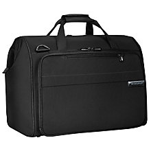 Buy Briggs & Riley Baseline Framed Weekender Holdall, Black Online at johnlewis.com