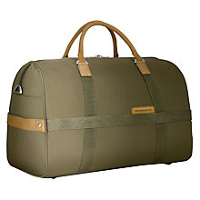 Buy Briggs & Riley Baseline Medium Duffel, Olive Online at johnlewis.com