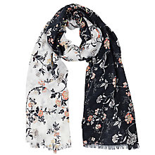 Buy Oasis Oriental Patched Scarf, Multi Online at johnlewis.com