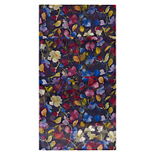Buy Hobbs Sweet Pea Scarf, Multi Navy Online at johnlewis.com