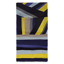 Buy Hobbs Katie Scarf, Chartreuse/Multi Online at johnlewis.com
