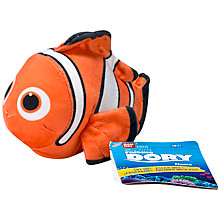 Buy Finding Dory Nemo Mini Soft Plush Toy with Sound Online at johnlewis.com