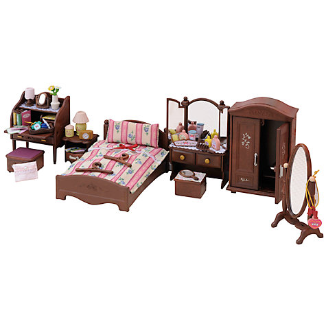 buy sylvanian families luxury master bedroom furniture set