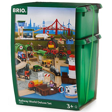 Buy Brio Railway World Deluxe Set John Lewis