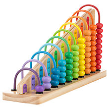 Buy Melissa & Doug Add & Subtract Abacus Online at johnlewis.com