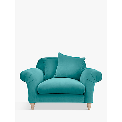 Velvet Fabric Love Chair Swivel Cuddler Plus Size Armchairs