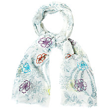 Buy White Stuff Souvenir Sprig Scarf, Multi Online at johnlewis.com