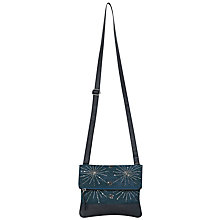 Buy White Stuff Canvas Bella Sequin Bag, Teal Online at johnlewis.com
