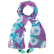 Buy White Stuff Darjeeling Print Scarf, Multi Online at johnlewis.com