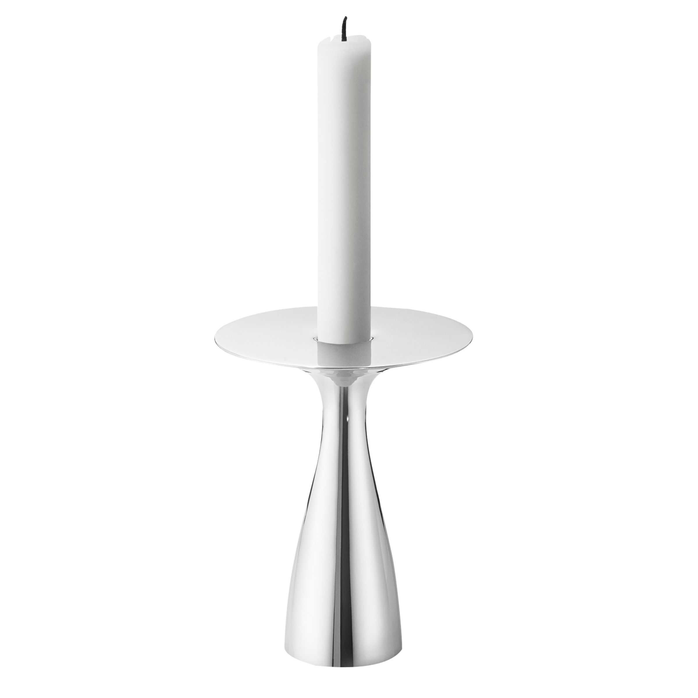 Georg Jensen Georg Jensen Alfredo Candlestick Holder, Medium