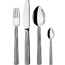 Buy Georg Jensen Bernadotte Cutlery Set, 24 Piece Online at johnlewis.com