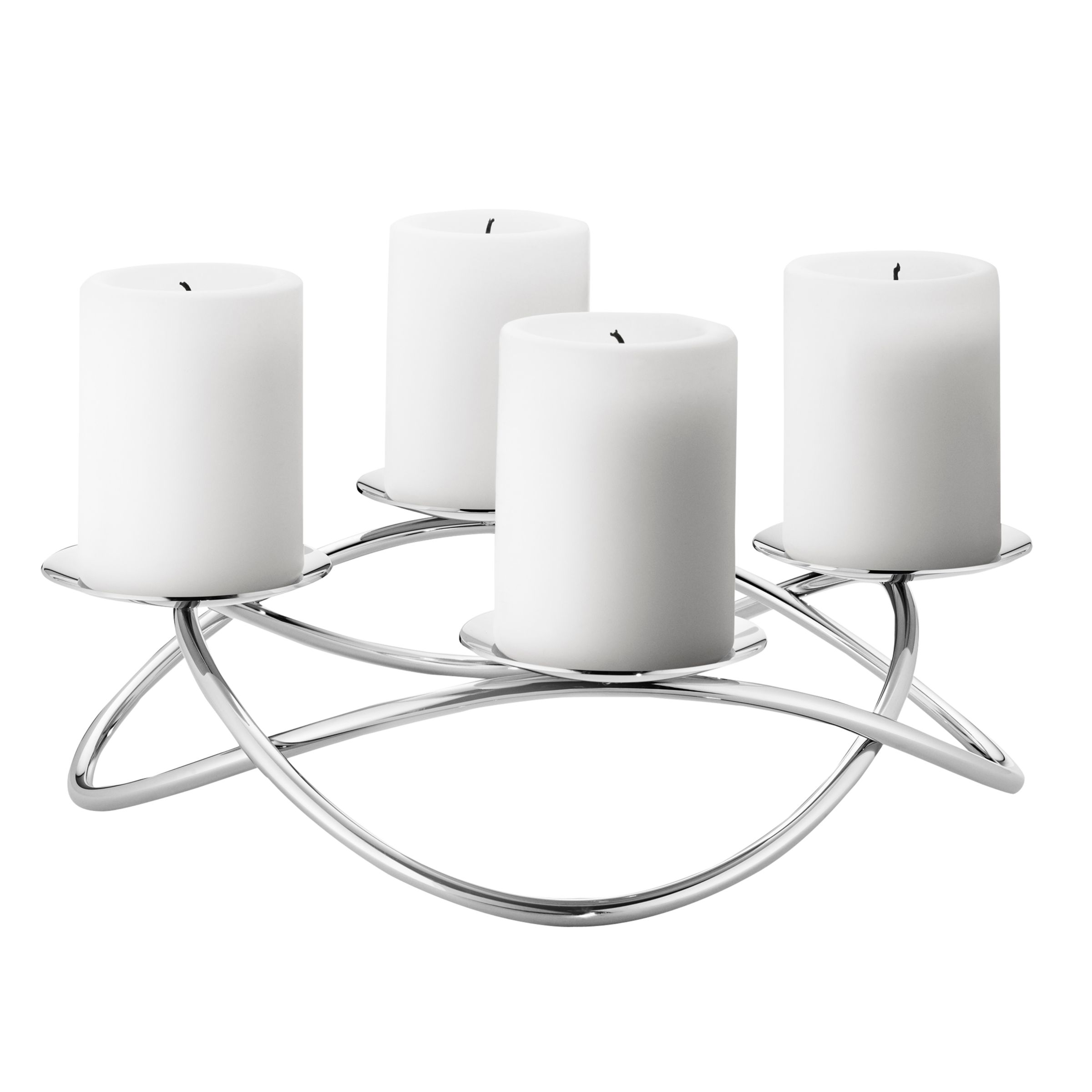Georg Jensen Georg Jensen Season Grand Candle Stick Holder, Steel