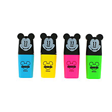 Buy Disney Mickey Mouse Shaped Highlighters Online at johnlewis.com