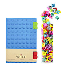 Buy WAFF Large Notebook, Blue Online at johnlewis.com