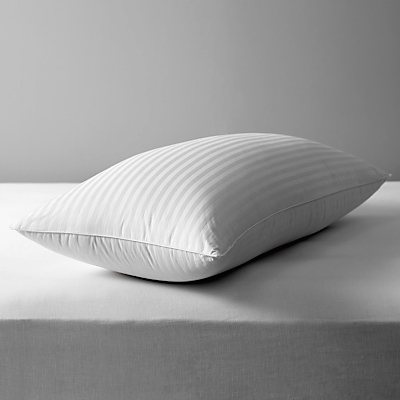 John Lewis Luxury Hungarian Goose Down King Size Pillow, Medium/Firm