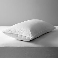 Buy John Lewis Soft Like Down King Size Pillow, Medium/Firm Online at johnlewis.com