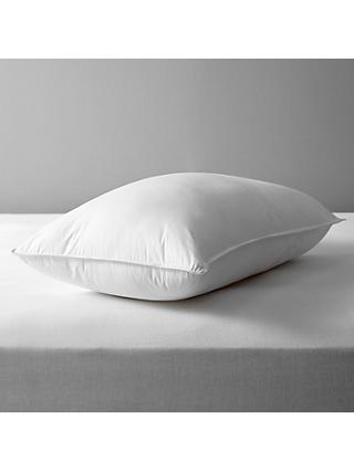 John Lewis & Partners Synthetic Soft Like Down Standard Pillow, Soft/Medium