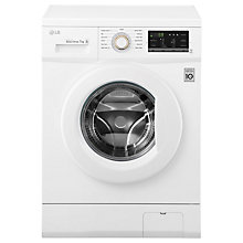 Buy LG FH4G7QDN0 Freestanding Washing Machine, 7kg Load, A+++ Energy Rating, 1400rpm Spin, White Online at johnlewis.com