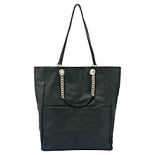 Buy Mint Velvet Cara Shopper, Black Online at johnlewis.com