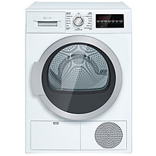 Buy Neff R8580X2GB Freestanding Condenser Tumble Dryer, 9kg Load, B Energy Rating, White Online at johnlewis.com