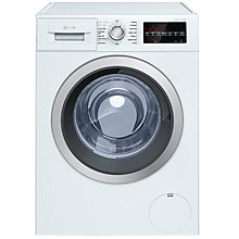 Buy Neff V7446X1GB Freestanding Washer Dryer, 8kg Wash/5kg Dry Load, A Energy Rating, White Online at johnlewis.com