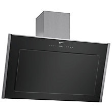 Buy Neff D39DT57N0B Chimney Cooker Hood, Stainless Steel / Black Online at johnlewis.com