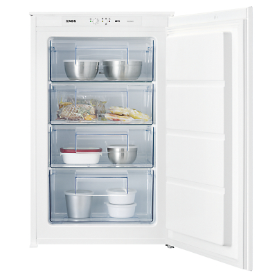 AEG AGS58800S1 Integrated Freezer A Energy Rating 54cm Wide