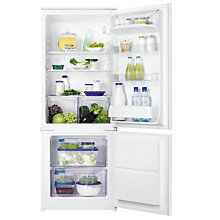 Buy Zanussi ZBB24431SA Integrated Fridge Freezer, A+ Energy Rating, 56cm Wide Online at johnlewis.com