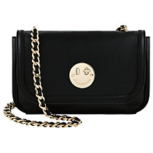 Buy Hill and Friends Happy Medium Chain Shoulder Bag, Liquorice Black Online at johnlewis.com