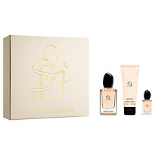 Buy Giorgio Armani Si 50ml Eau de Parfum Fragrance Gift Set Online at johnlewis.com