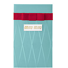 Buy Miu Miu Eau de Parfum Pre Packed Gift, 50ml Online at johnlewis.com