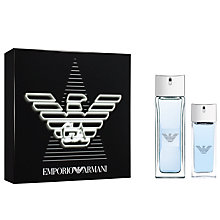Buy Emporio Armani Diamonds Rocks For Men 75ml Eau de Toilette Fragrance Gift Set Online at johnlewis.com