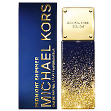 Buy Micheal Kors Midnight Shimmer Eau de Parfum Online at johnlewis.com