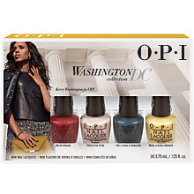 Buy OPI Washington D.C. Collection Mini Colour Set, 4 x 3.75ml Online at johnlewis.com