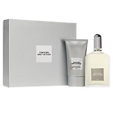 Buy TOM FORD Grey Vetiver 100ml Eau de Parfum Gift Set Online at johnlewis.com