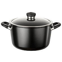 Buy Circulon Ultimum High Density Forged Aluminium 5.7L Covered Stockpot, Black Online at johnlewis.com