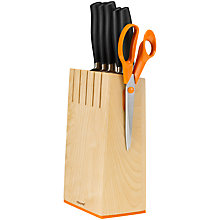Buy Fiskars Knife Block Online at johnlewis.com