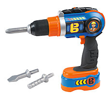 Buy Bob The Builder Smoby Mechanical Drill Toy Online at johnlewis.com