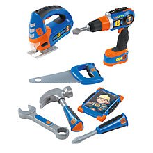 Buy Bob The Builder Smoby Power Tool Play Set Online at johnlewis.com